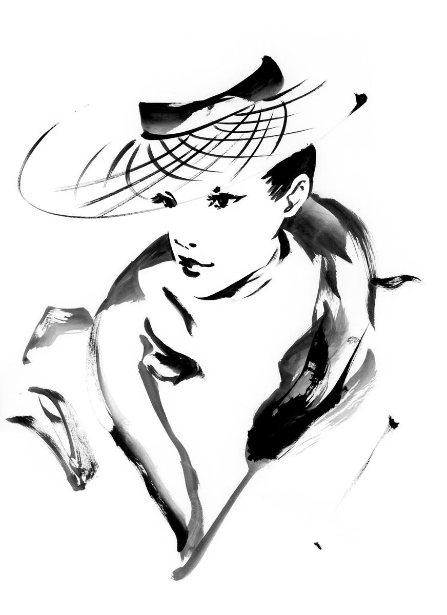 帽子レース
